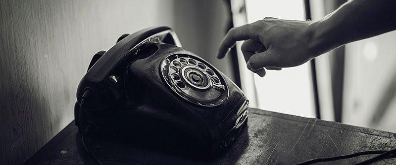 oldschool telephone
