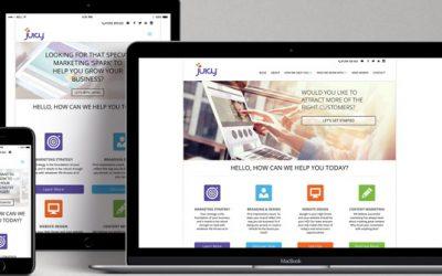 JUICY SPOTLIGHT ON: Responsive Web  Design Projects