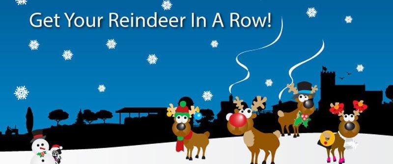 Get Your Reindeer In A Row!