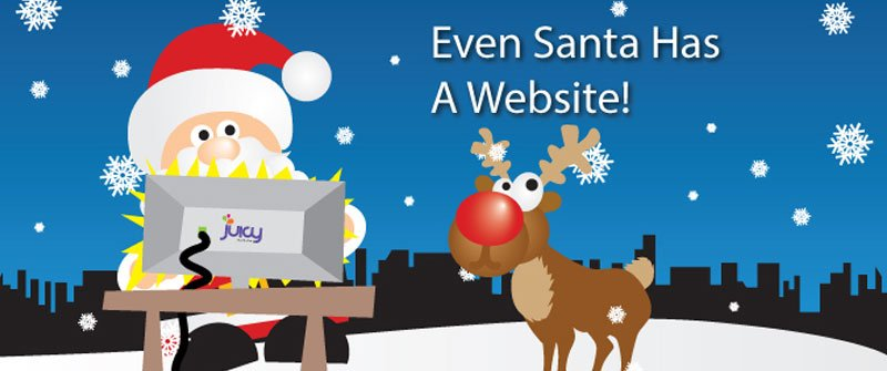 Even Santa Has A Website!